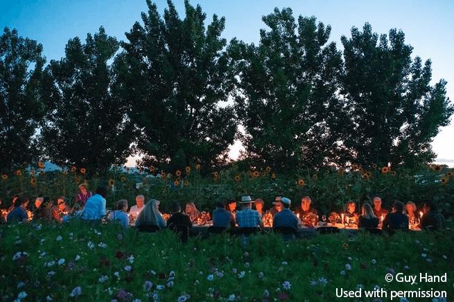 Farm to Cork Dinner at Vine & Branch Ranch